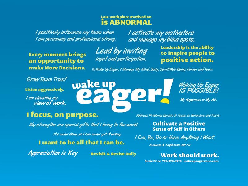 wake up eager manfesto