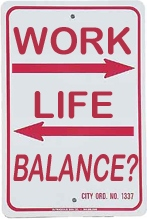 definition of balance, work life balance