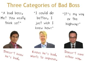 basic management skills - bad boss, good boss