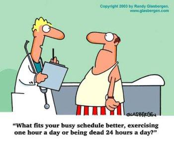 daily motivation for fitness cartoon