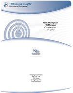 Sample DISC Assessment