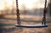 deserted swing
